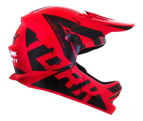 Capacete Infantil Cross Off Road Trilha Factory Edition