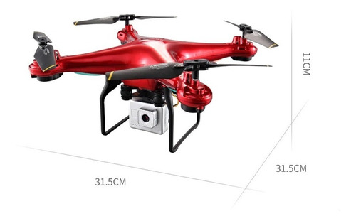 Drone Eboyu Quadricóptero Rc L500 2.4ghz, Câmera Hd 720p, Wi