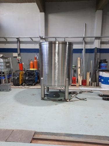 Reactor Mezclador Emulcionador Agitador Calderin