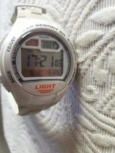 Relógio G-shock Light - Funcionando,pulseira Pouco Desbotada