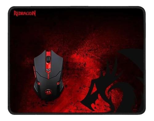 Combo Redragon Mouse Inalámbrico M601 + Mouse Pad P016 Bgu