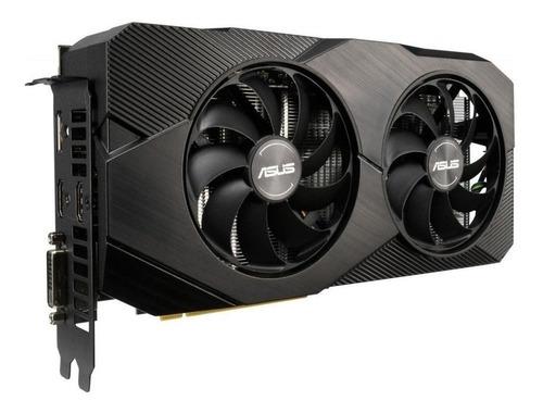 Placa De Vídeo Nvidia Asus  Dual Geforce Rtx 20 Series Rtx 2060 Dual-rtx2060-o6g-evo Oc Edition 6gb