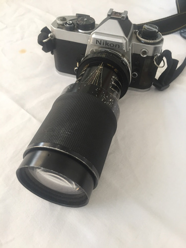 Nikon Analógica Com Lente