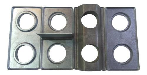 Kit De Formas P/ Tijolo Ecológico 12,5 X 25 Cm Solo Cimento