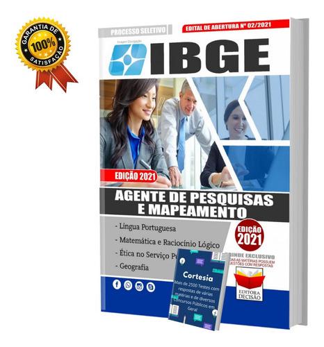 Apostila Concurso Ibge Agente De Pesquisa Mapeamento