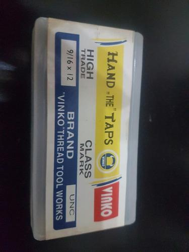 Macho Rosca Unc 9/16 × 12 Vinko Juegos De 3pza (15v)