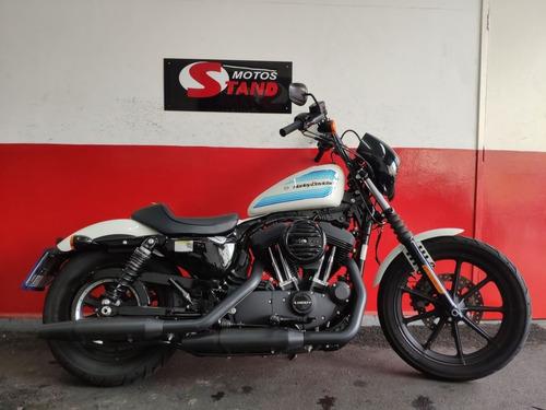 Harley Davidson Sportster Xl 1200 Ns Iron Abs 2019 Branca