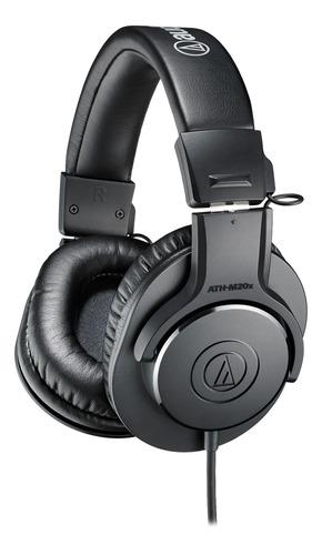 Auriculares Audio-technica M-series Ath-m20x Negro
