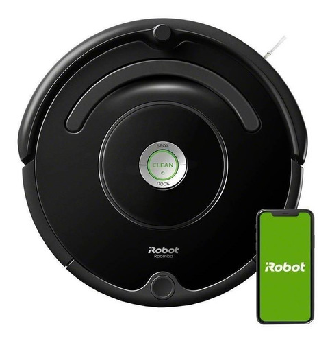 Aspiradora Robot Irobot 600 Roomba 675  Negra 120v/240v