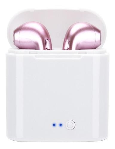 Auriculares In-ear Inalámbricos I7s Tws Rosa