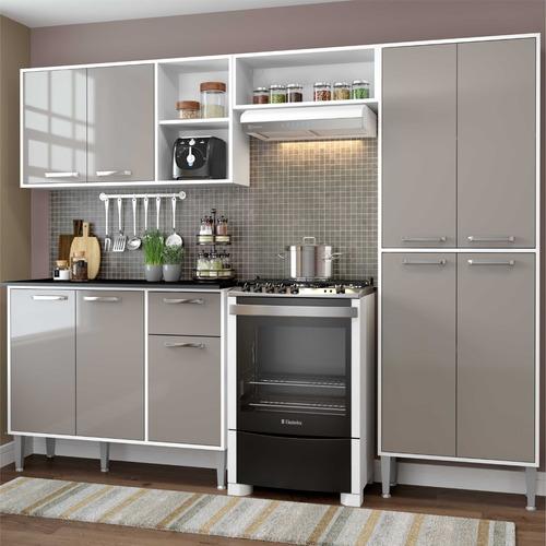 Cozinha Completa Compacta Xangai Plus Multimóveis