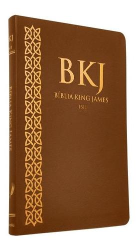 Bíblia Sagrada King James Fiel 1611 Ultra Fina Slim Premium