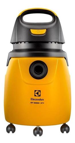 Aspirador De Pó Electrolux Profissional Gt3000 Gt30n 20l Amarelo E Preto 220v