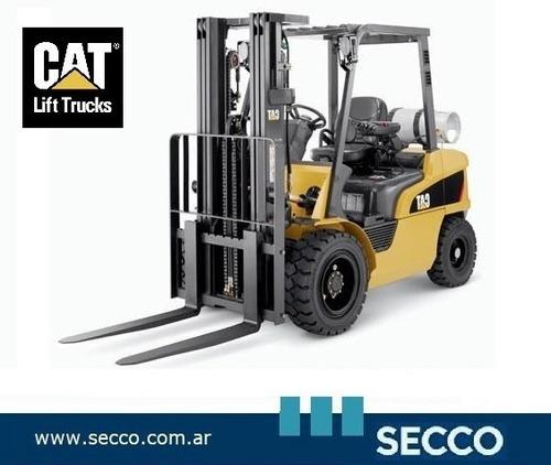 Autoelevador Cat 2,5 Tn Nafta/gas Nuevo 0hs Orig Estad. Unid