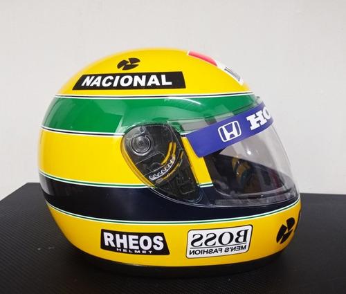 Capacete Ayrton Senna 1991 Gp Brasil