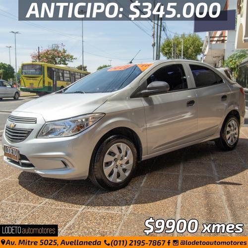 Chevrolet Prisma 1.4 Lt 2016 Anticipo/permuta/financiacion