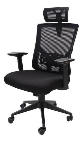 Cadeira De Escritório Presidente Tela Mesh Ajuste Relax