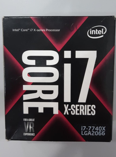 Processador Intel Core I7-7740x Kaby Lake Cache 8mb 4.3ghz