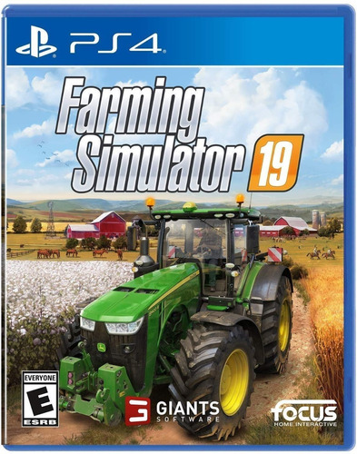 Ps4 Farming Simulator 19 / Fisico