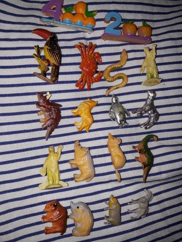 Muñecos Jack Animalitos Años '70 X 5u.