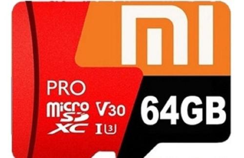 Cartão De Memória Xiaomi 64 Gb Classe 10 Pro