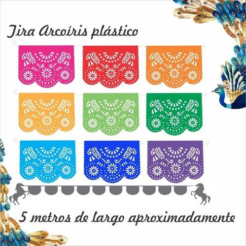Plástico Picado - Arcoris 10 Tiras De 5.5 Metros De Largo