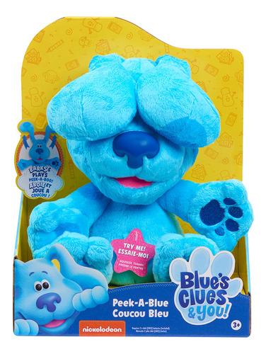 Nickelodeon Peluche Pistas De Blue Peek A Blue Sonido Frases