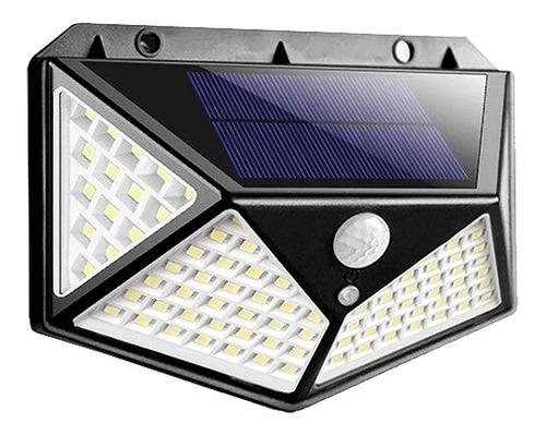 Luminária Solar Arandela Parede Sensor Presença Luz Led