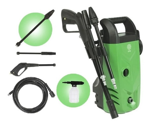 Lavadora Alta Pressão 1520psi Turbo Pwc04m Ipc Kit Completo