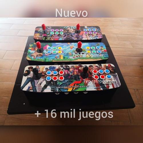 Tablero Arcade 16 Mil Juegos