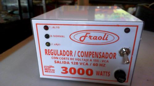 Compensador Regulador Industrial 3000w Reforzado Rms