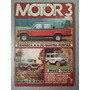 Revista Motor 3 Nº72 Junho 1986 Bronco Toyota A 20 R455