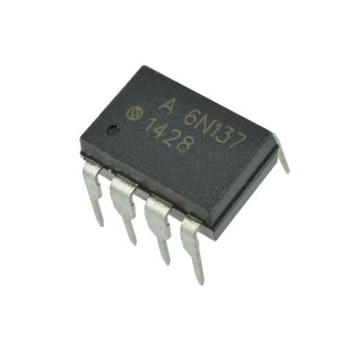 Optoacoplador 6n137 Opto Led-tr High Speed 2500v X5 Unidades