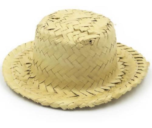 Mini Chapéu De Palha Boneca Dog Para Decoração - 12cm - Loja