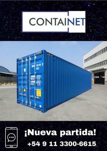 Contenedores Maritimos Usados 40' Hc Avellaneda Containers