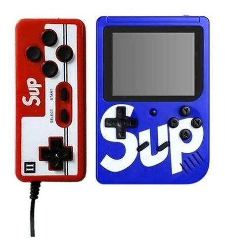 Mini Game Portátil 400 Jogos Internos Sup Box Com Controle