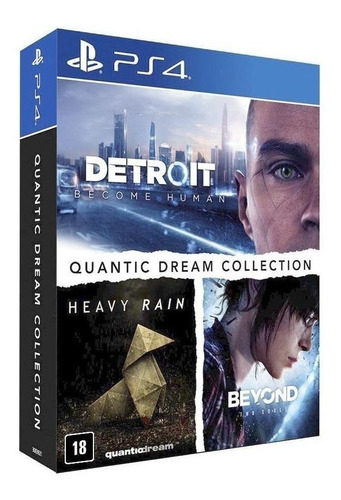 Quantic Dream Collection Sie Ps4 Físico