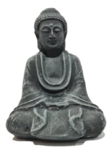 Enfeite Aquário Buda Cerâmica 12x8cm Peixe Cascudo Catfish