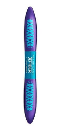 Máscara De Pestañas Waterproof L'oréal Paris False Lash Superstar X Fiber 7ml Color Black