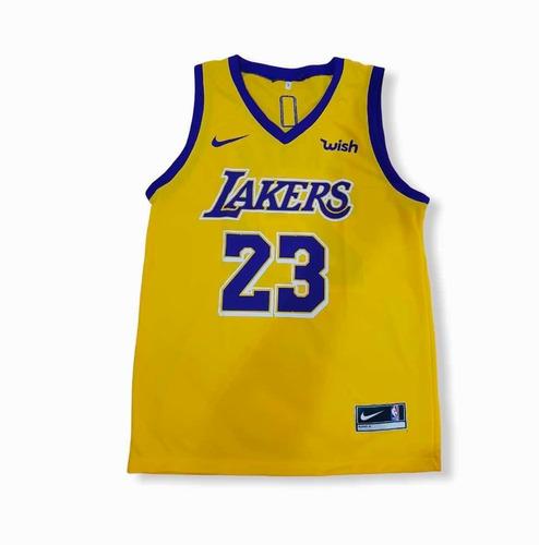 Regata Lakers Basquete Masculino Adulto Musculação