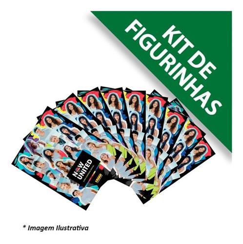Kit 40 Figurinhas Now United + 10 Cards - São 10 Envelopes