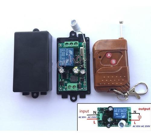 Control Remoto 1 Via  85 V - 250v Ac