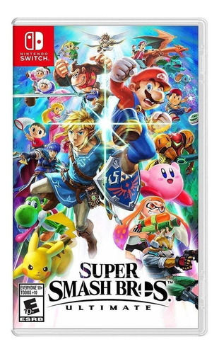 Super Smash Bros Ultimate Standard Edition Nintendo Switch  Físico