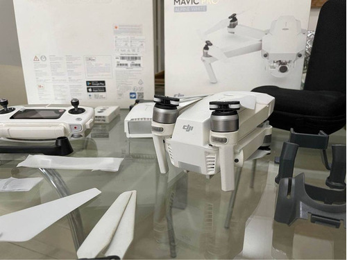 Drone Dji Mavic Pro Con Cámara C4k Alpine White