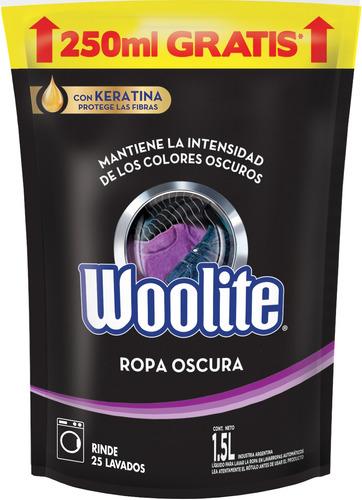 Jabón Líquido Woolite Ropa Oscura Repuesto 1.5l