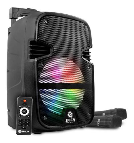 Parlante Spica Sp 3312tc Portátil Con Bluetooth