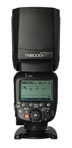 Flash Yongnuo Yn 600ex Rt Ii Speedlite Para Canon