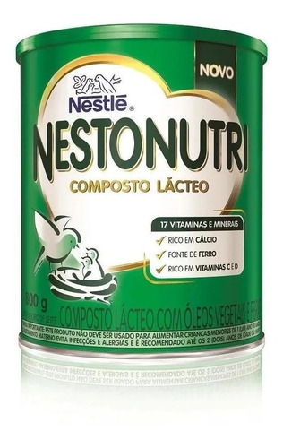 Nestonutri Composto Lácteo Infantil Lata 800g