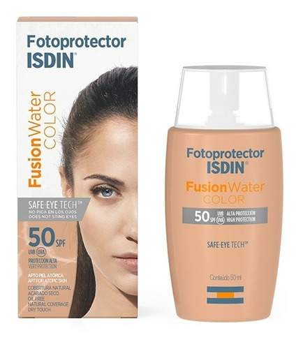 Fotoprotector Isdin Fusion Water  Spf - mL a $1878