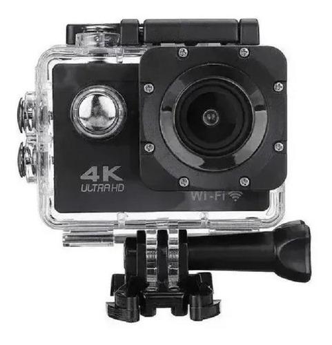 Câmera De Ação Action Pro Sport 4k Wifi Mergulho Cor Preto
